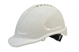 Maxisafe Vented Hard Hat - Ratchet Harness