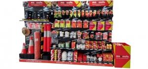 3 Bay Merchandiser Display