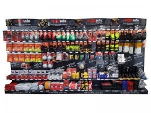 4 Bay Merchandiser Display