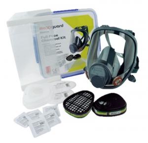 Maxiguard Full Face Respirator Chemical Kit