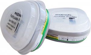 Maxiguard ABEK Gas & P2 Filter Combo