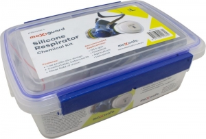 MaxiGuard Half Mask Silicone Chemical Kit