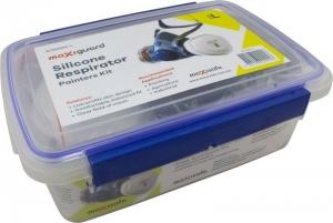 MaxiGuard Half Mask Silicone Painters Kit