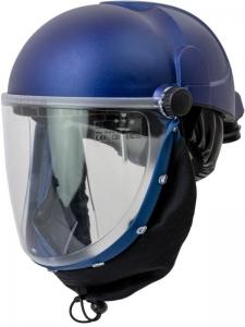 PAPR Helmet with Clear Flip-up Visor