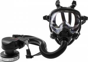 CleanAIR Belt Mount Asbest PAPR with Full Face Mask