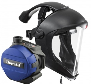 CleanAir Faceshield with Basic PAPR