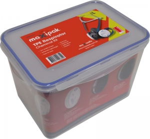 MaxiPak RS01 TPE Half Mask Respirator Chemical Kit