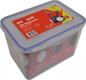 MaxiPak RS01 TPE Half Mask Respirator Painter's Kit