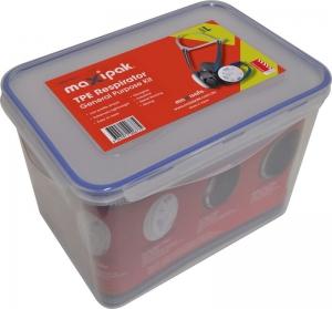 MaxiPak RS01 TPE Half Mask Respirator General Purpose Kit