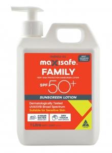 SPF 50+ Sunscreen Lotion, 1ltr pump