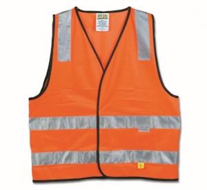 Maxisafe Hi-Vis Orange Safety Vest (Class D/N)