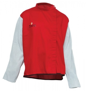 Arcguard Welding Jacket with leather sleeves