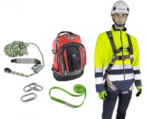 Premium Roofers Kit with full body harness