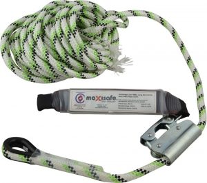Maxisafe 15m Rope Line With Adjuster & Shock Asborber