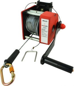 Maxisafe 20m Tripod Winch with Pulley & Mounting Bracket
